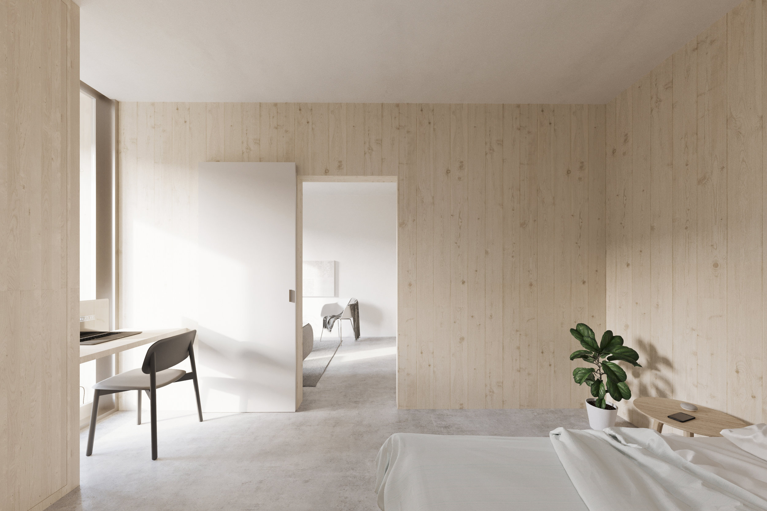 gh3 - SWL - Units - 1BR - Bedroom