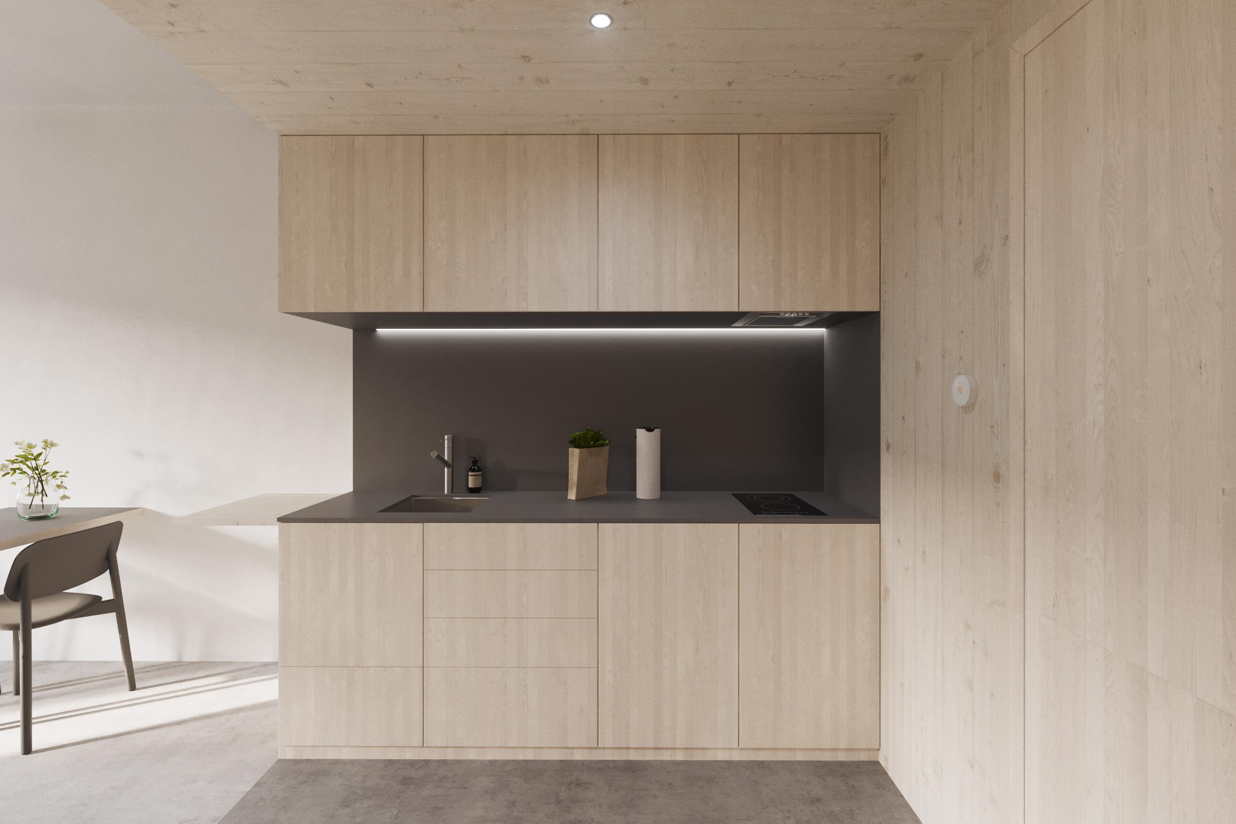 gh3 - SWL - Units - 1BR - Kitchen