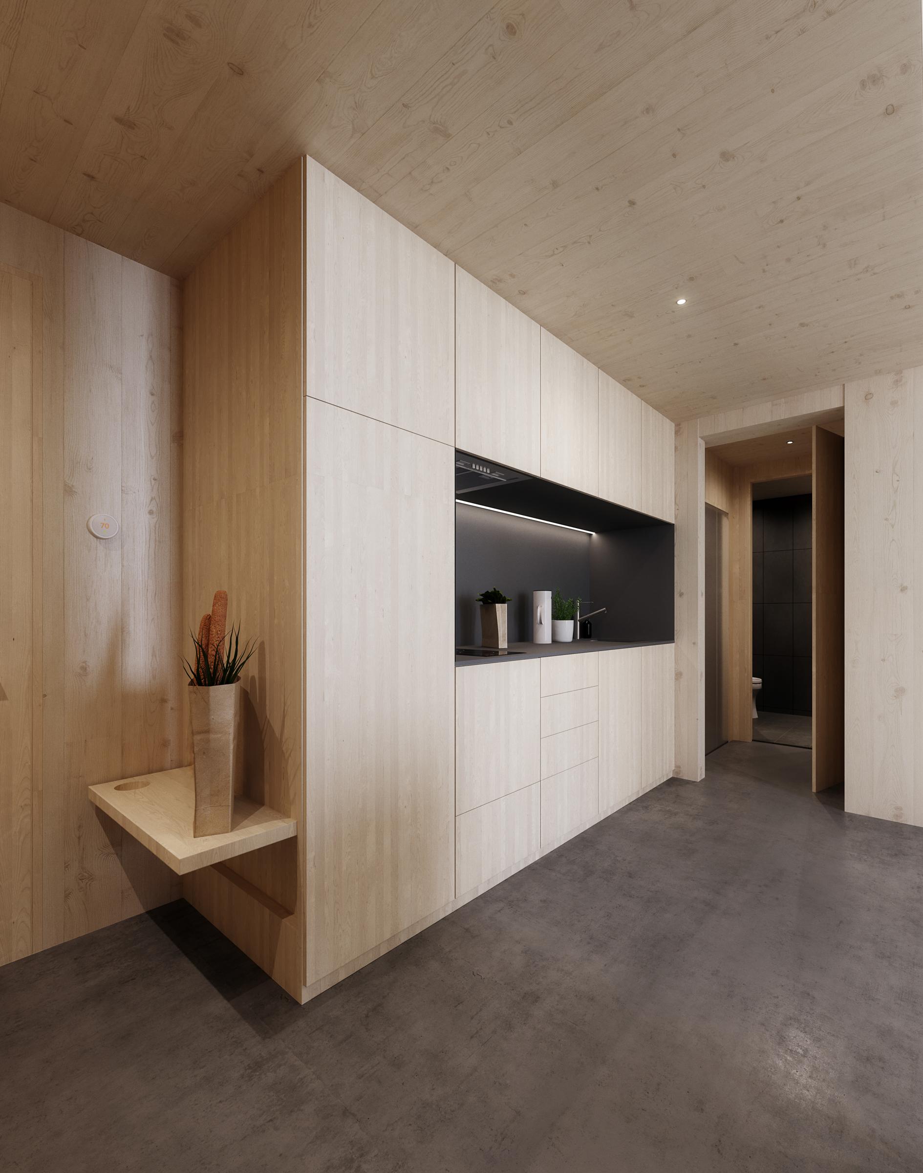 gh3 - SWL - Units - Studio - Kitchen