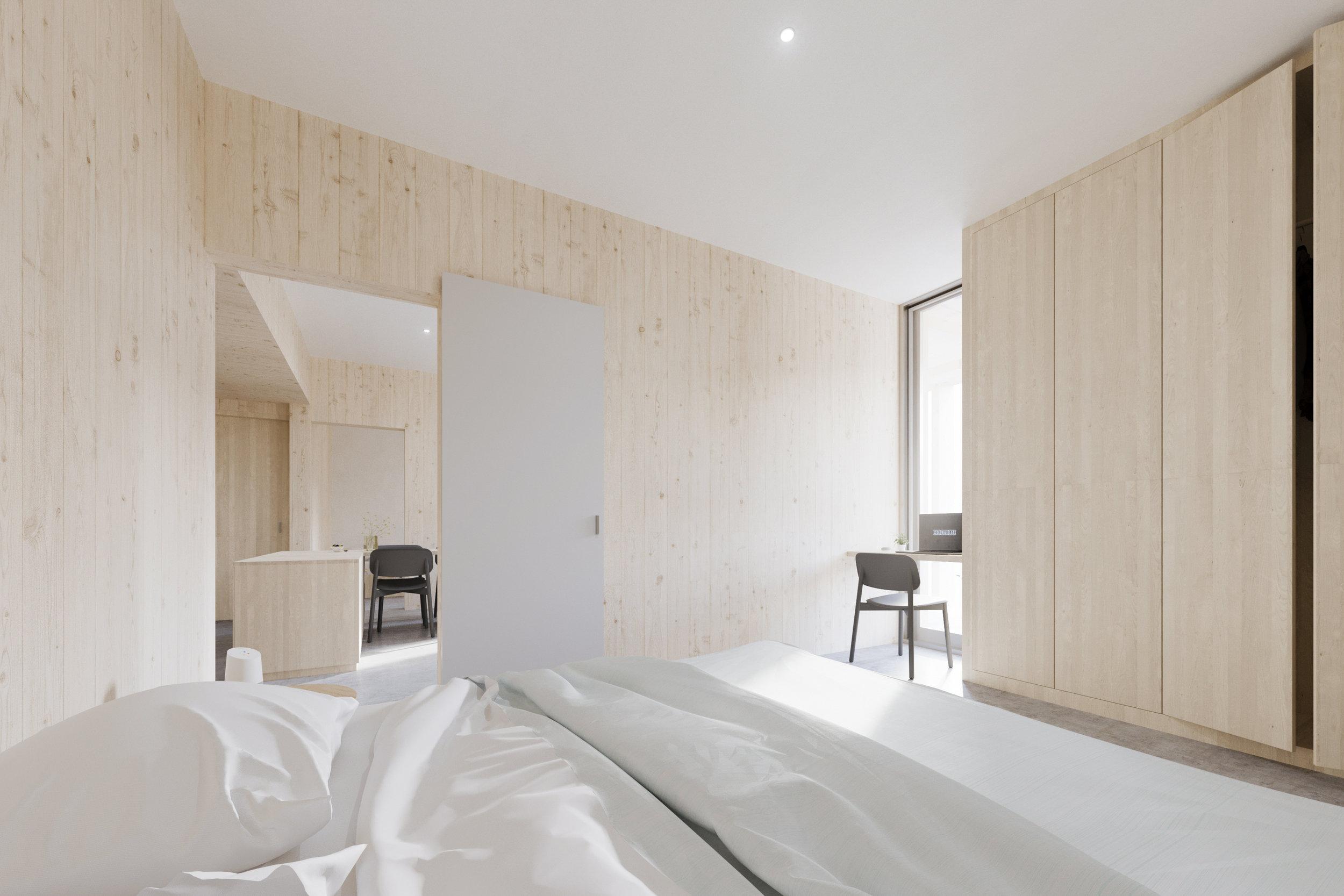 gh3 - SWL - Units - 2BR - Bedroom
