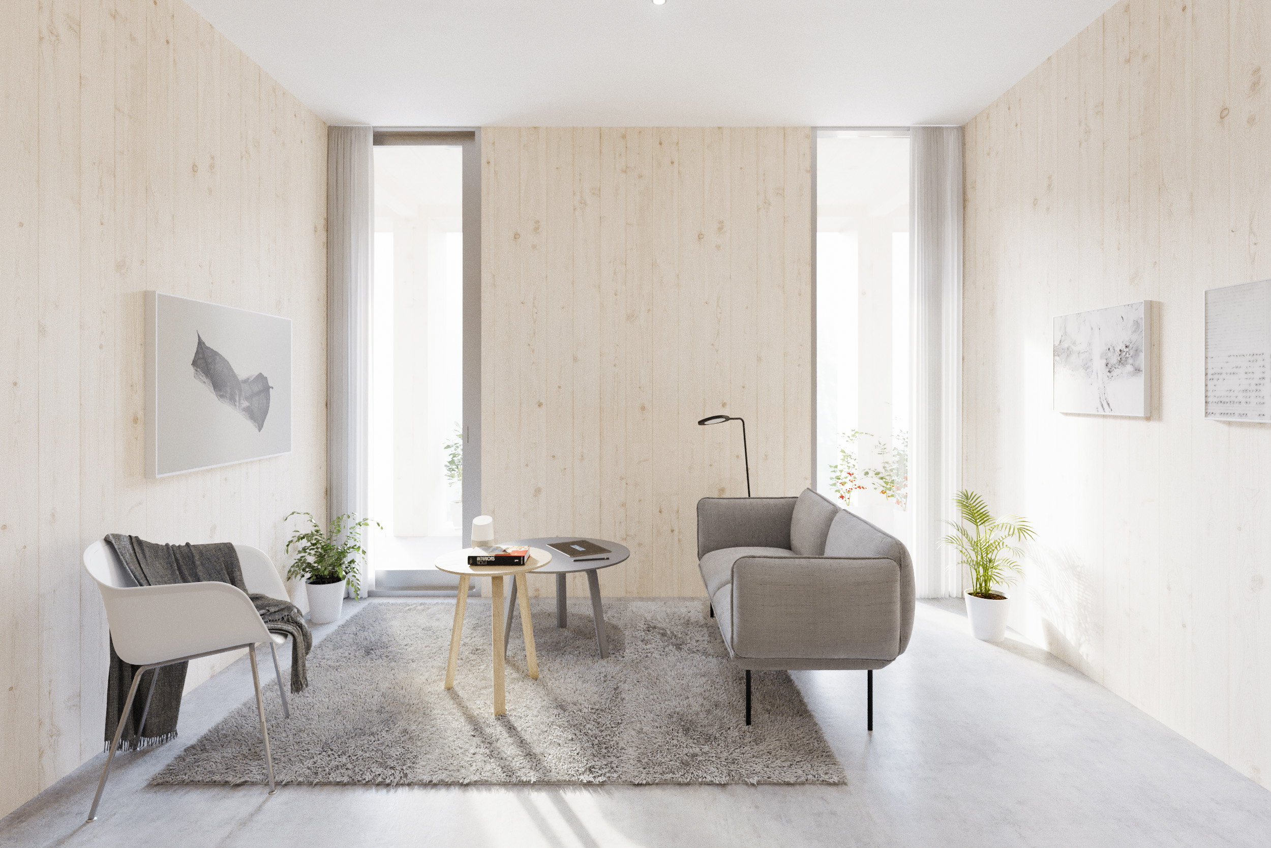 gh3 - SWL - Units - 2BR - Living Room