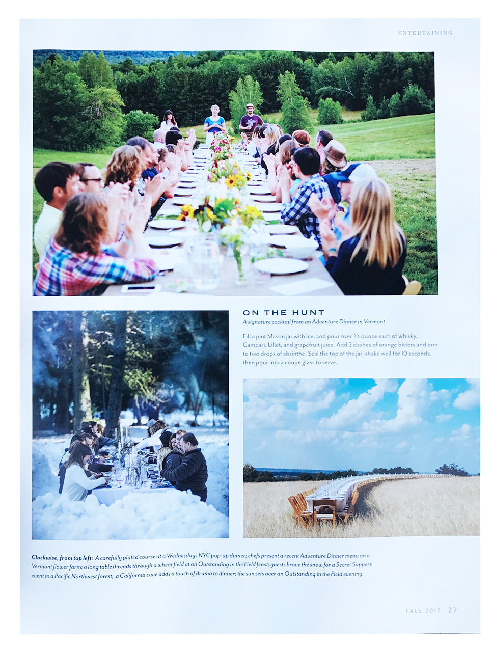 Stitchdown Farm Adventure Dinner Sift Magazine Fall 2017