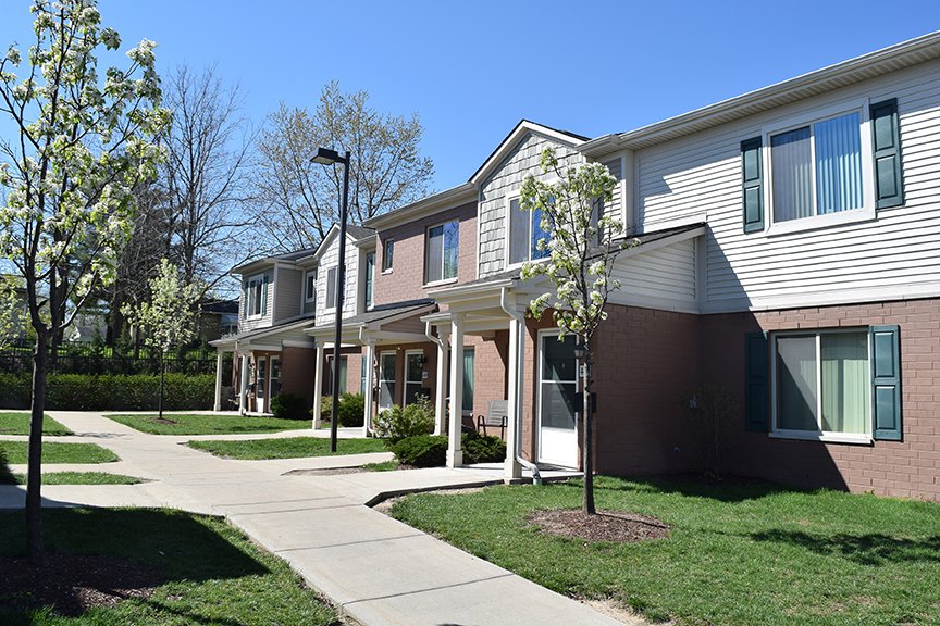Hamilton Crossing is one of the many housing  communities  offering modern amenities and services through the  Family Empowerment Program .