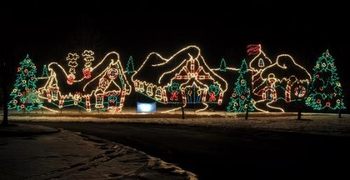 Holiday Fantasy of Lights:  11/16 - 1/1  Alum Creek light display and Santa's House. $20-$30 per car; free cookies and cocoa at the Santa House.
