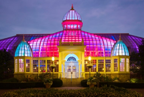 Gardens Aglow at the Conservatory:  11/17 - 1/2  Admission is $7 – $14. Holiday displays and activities at the Franklin Park Conservatory, including live entertainment, gingerbread contest, and family fun days. There are events every weekend and select weekdays.