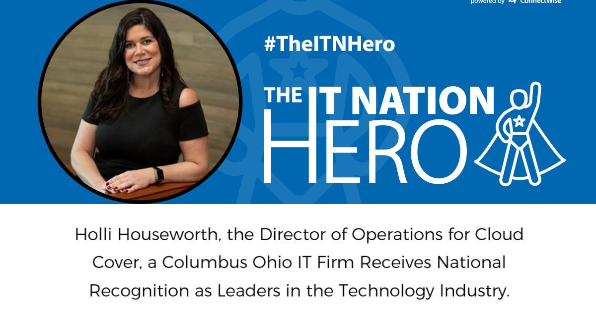 Read the article featuring Holli Houseworth, our Director of Operations receiving national recognition from Connectwise.