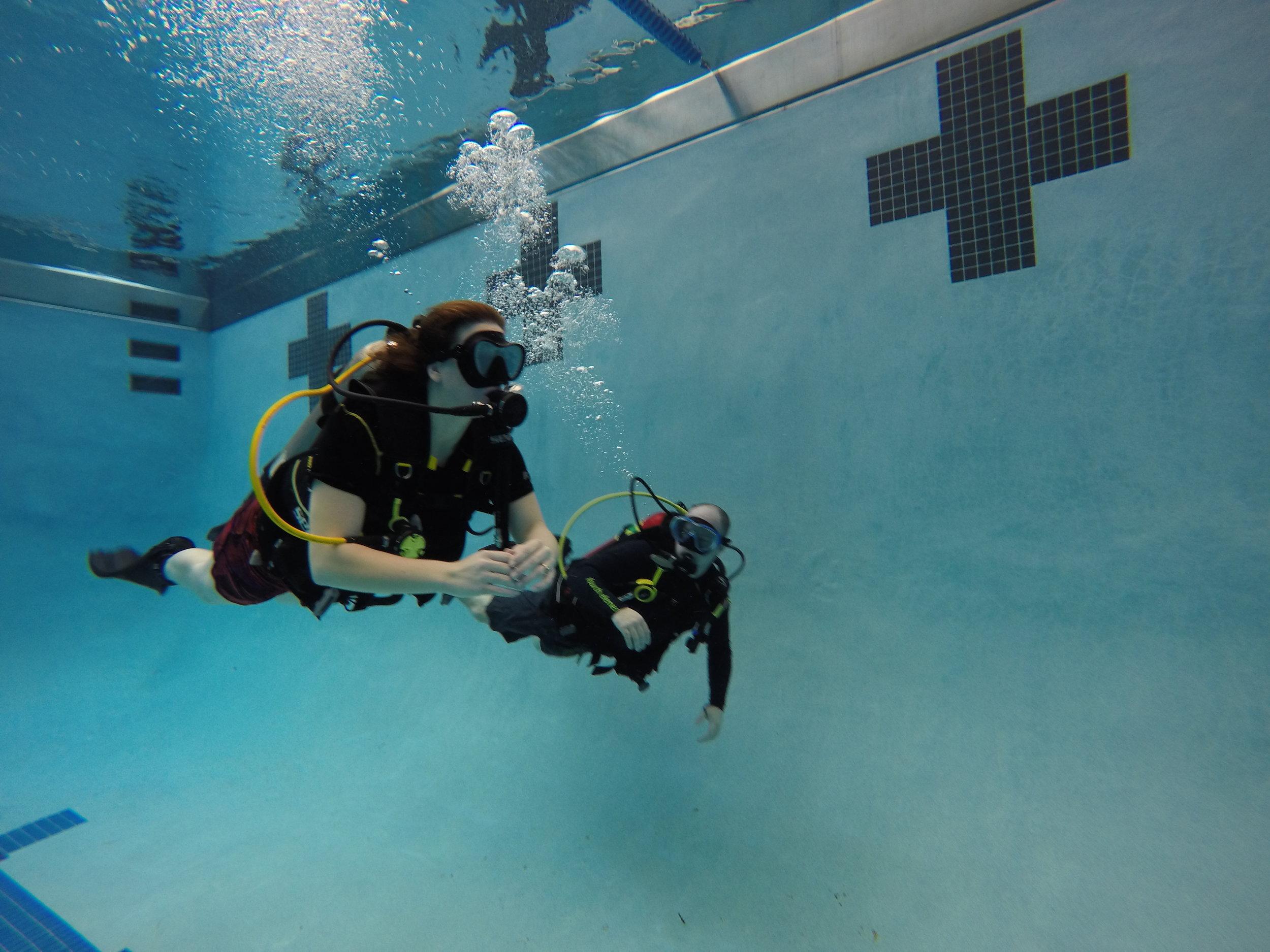 Feb. 2017 Open Water Diver