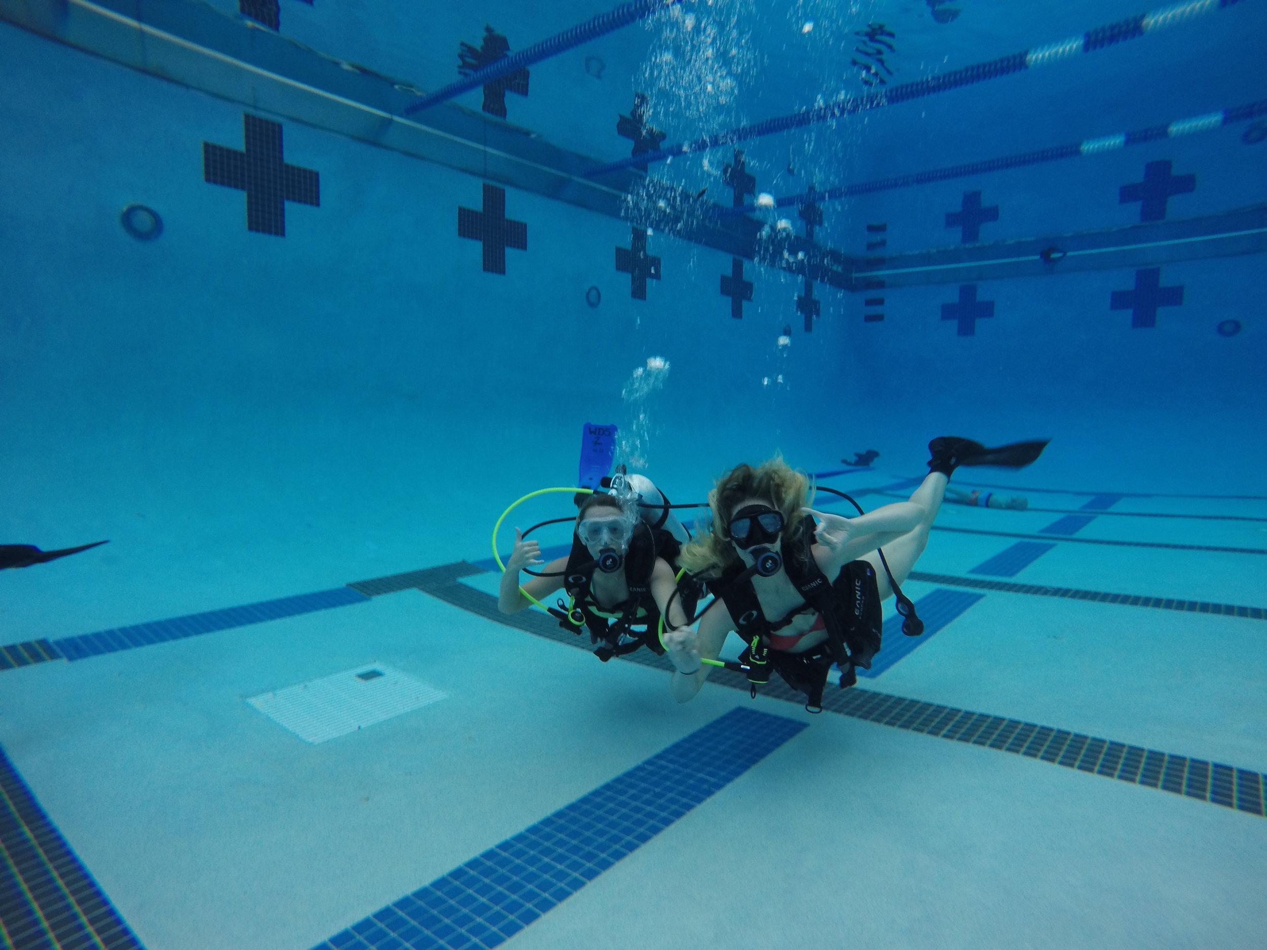 April 2017 Open Water Diver Class