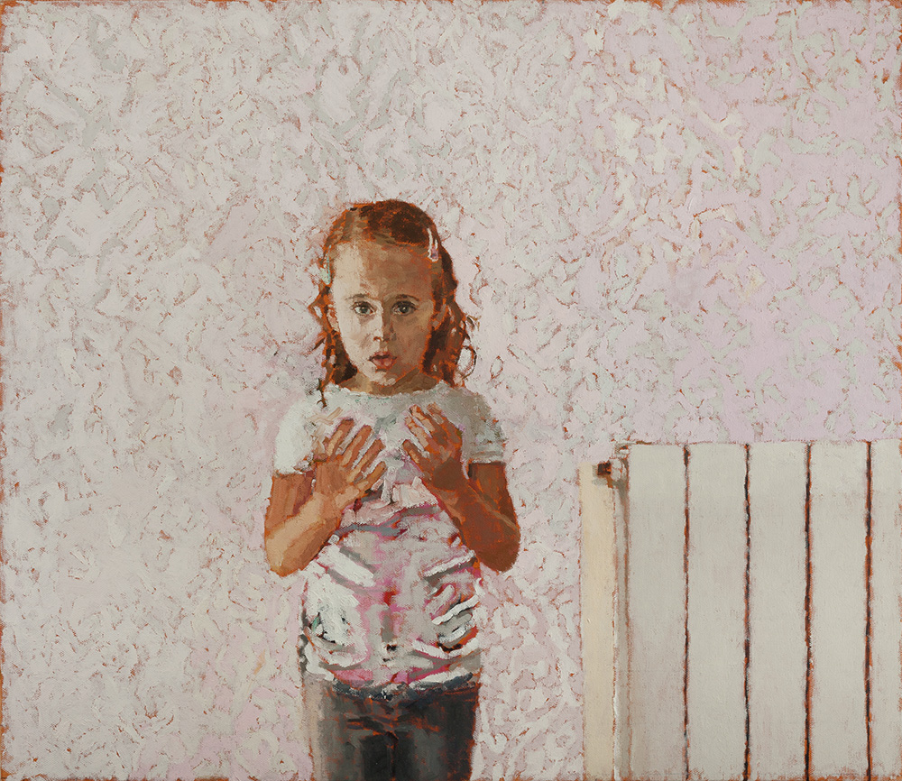 Lara #2, 2013, oil on canvas, 60x70 cm, private collection, Tel-Aviv