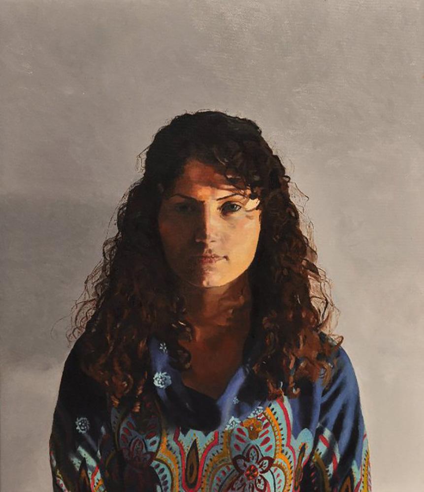 Self-Portrait, 2010, oil on canvas, 60x70, private collection, Tel Aviv