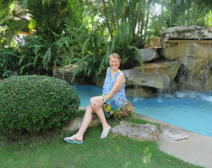 Beautiful setting at the Pura Vida Dauin Resort