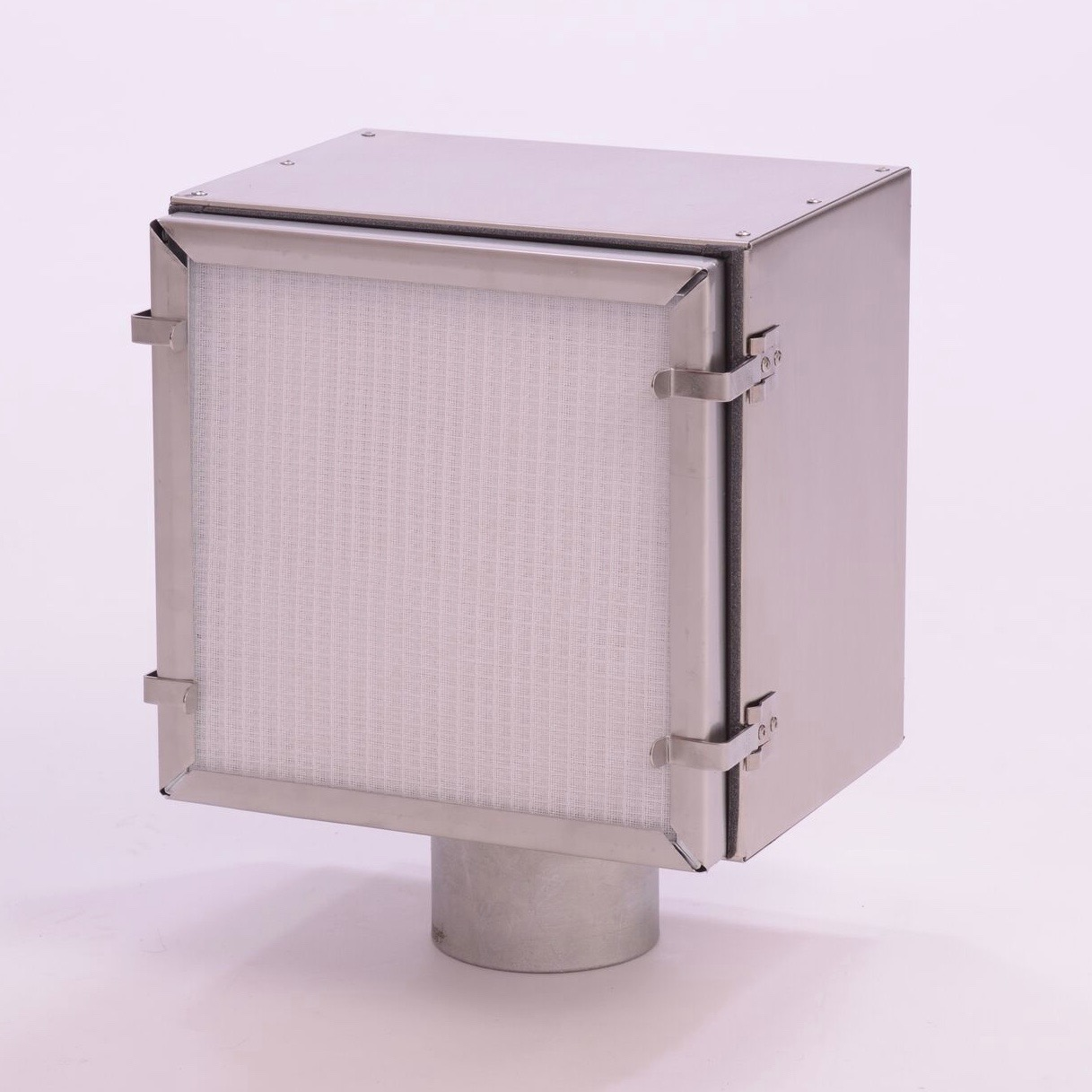 Air Vent with Optional Electrostatic Filter
