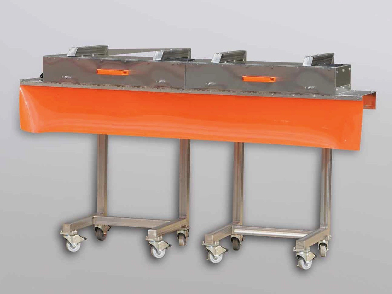 Mobile Conveyor Fixture for Pharmaceutical Packaging