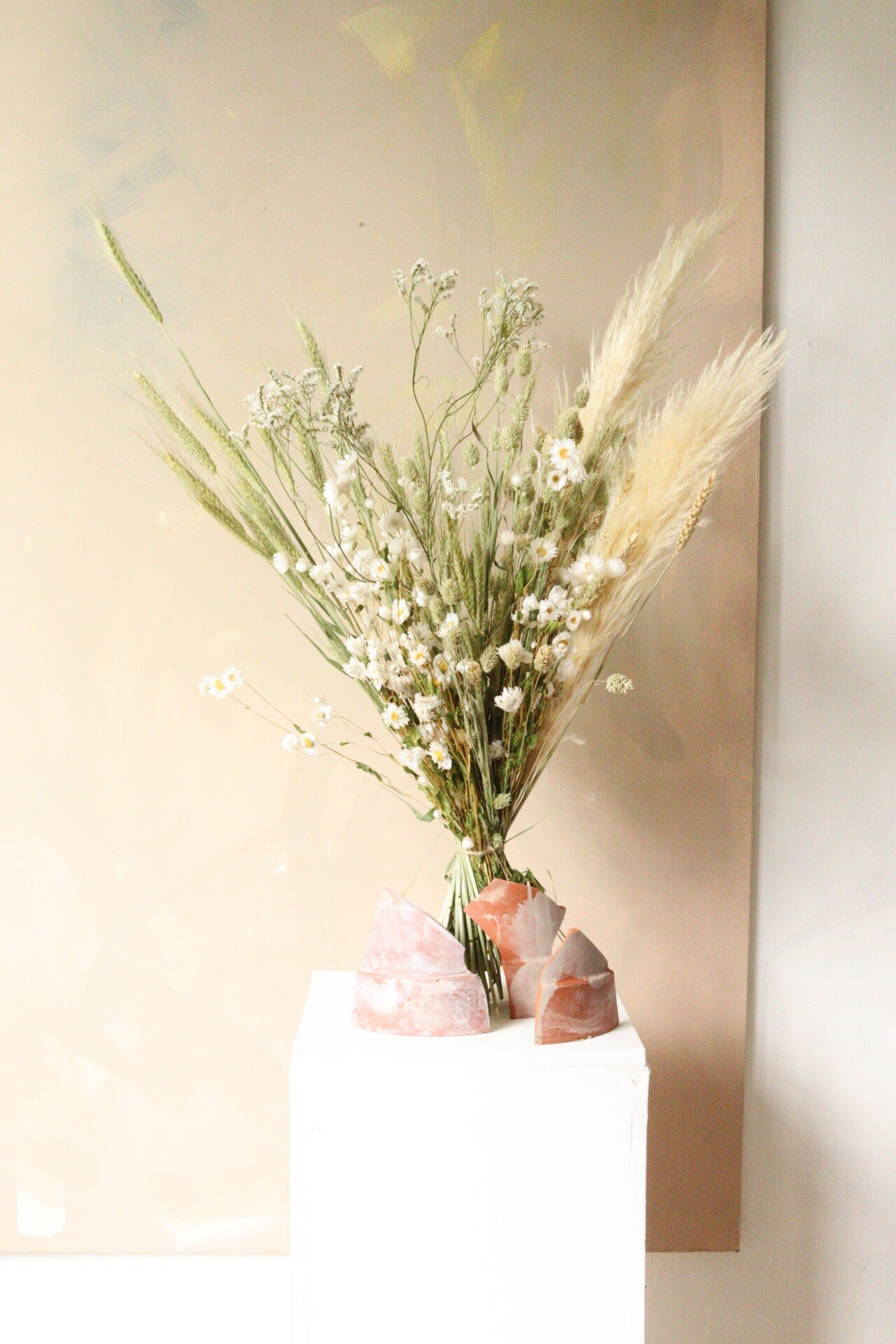 Design By Nature Dried Flower Bouquet Flower Delivery