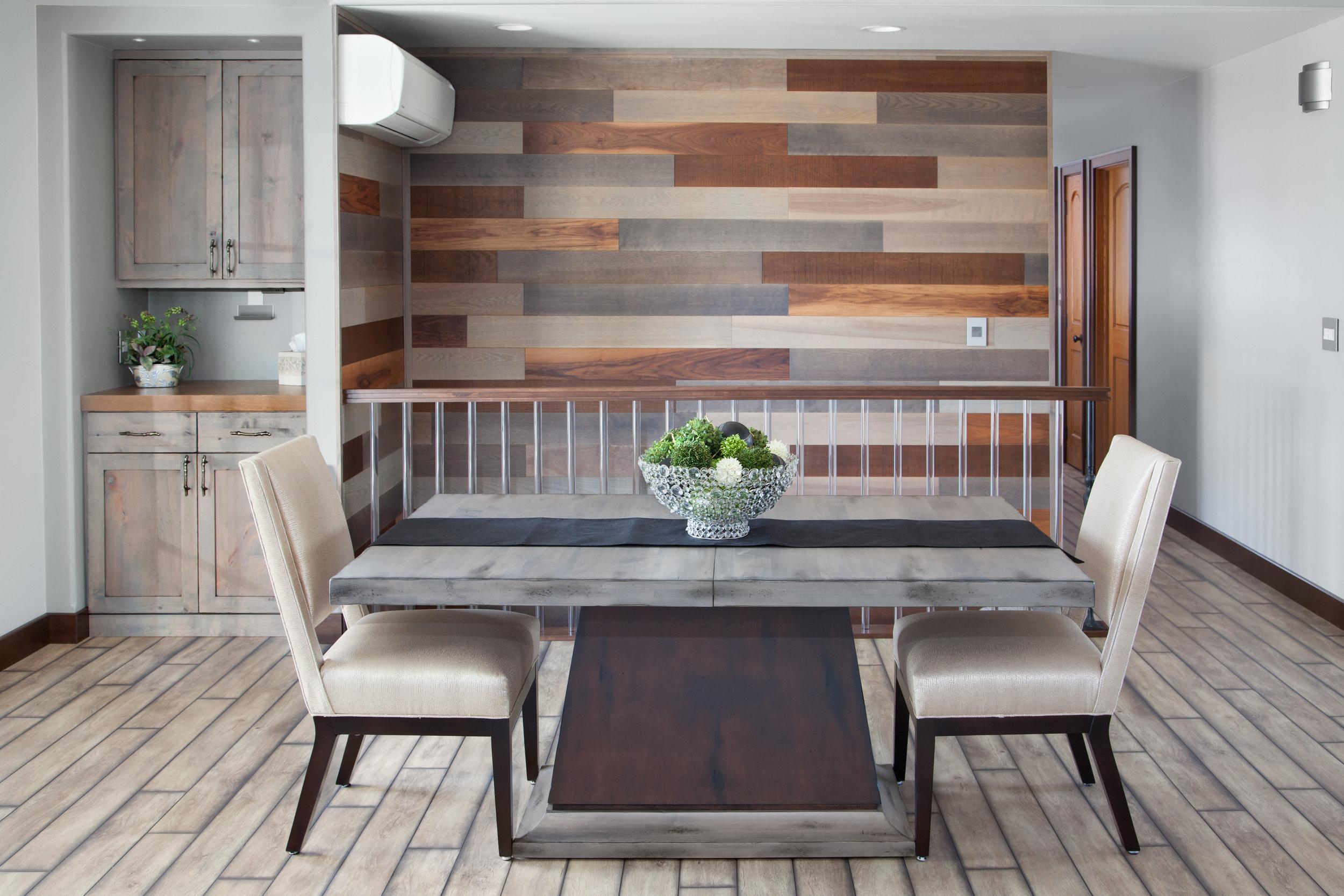 Contemporary Dining Room Ellie Ann's Interior Design