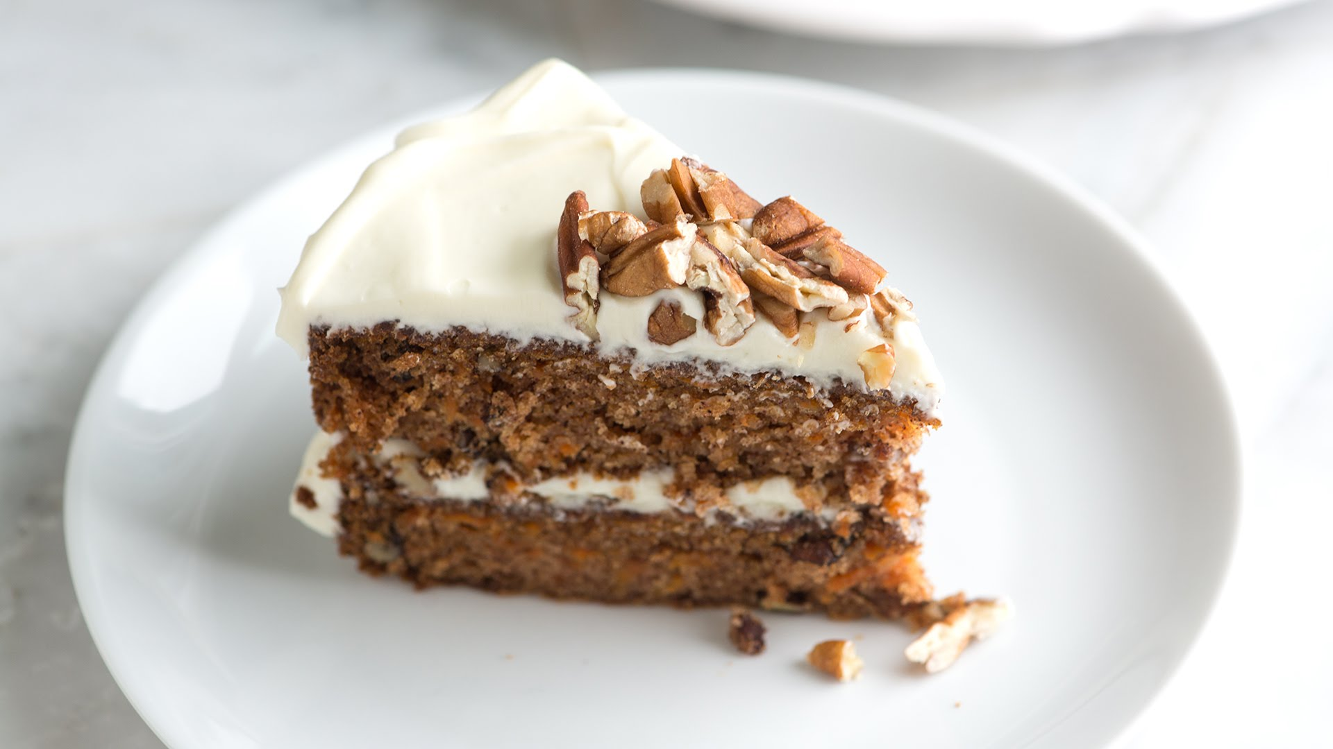 Carrot Cake -   Serves 8 people -   $35