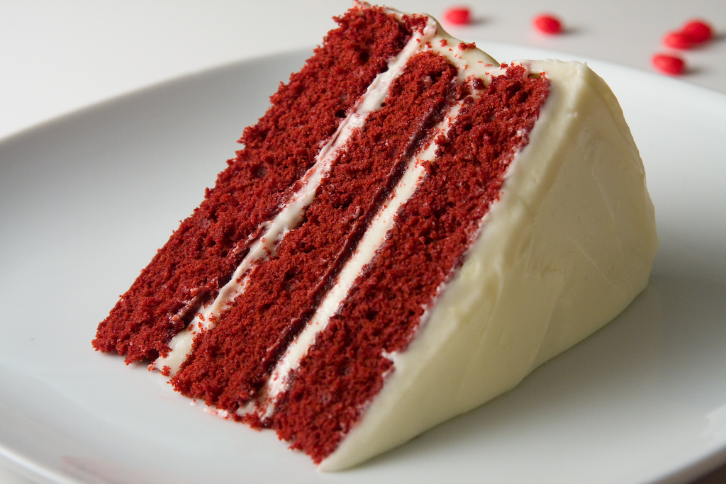 Red Velvet Cake   -  Serves 8 people - $35
