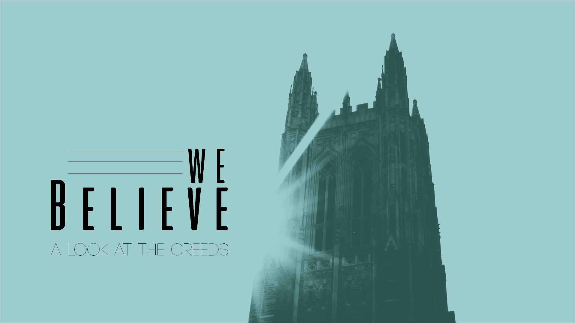 We Believe