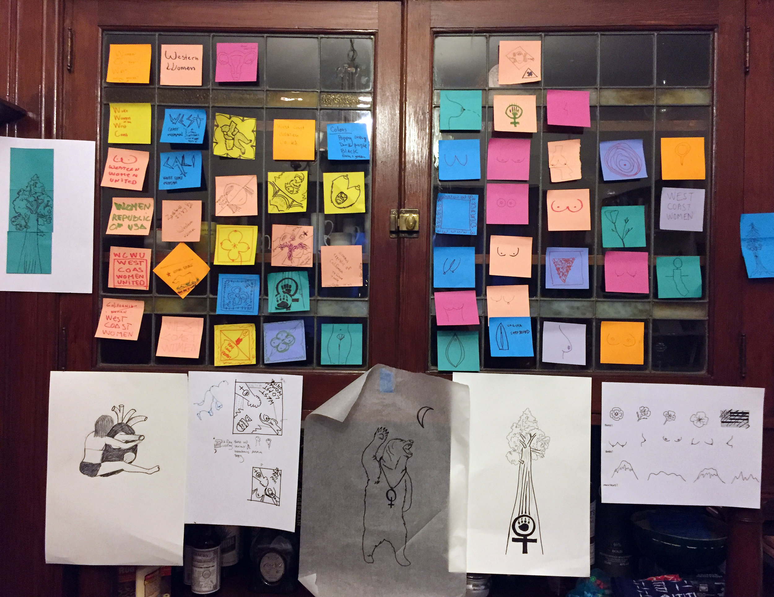 Your images can be very simple - try starting with a post-it.