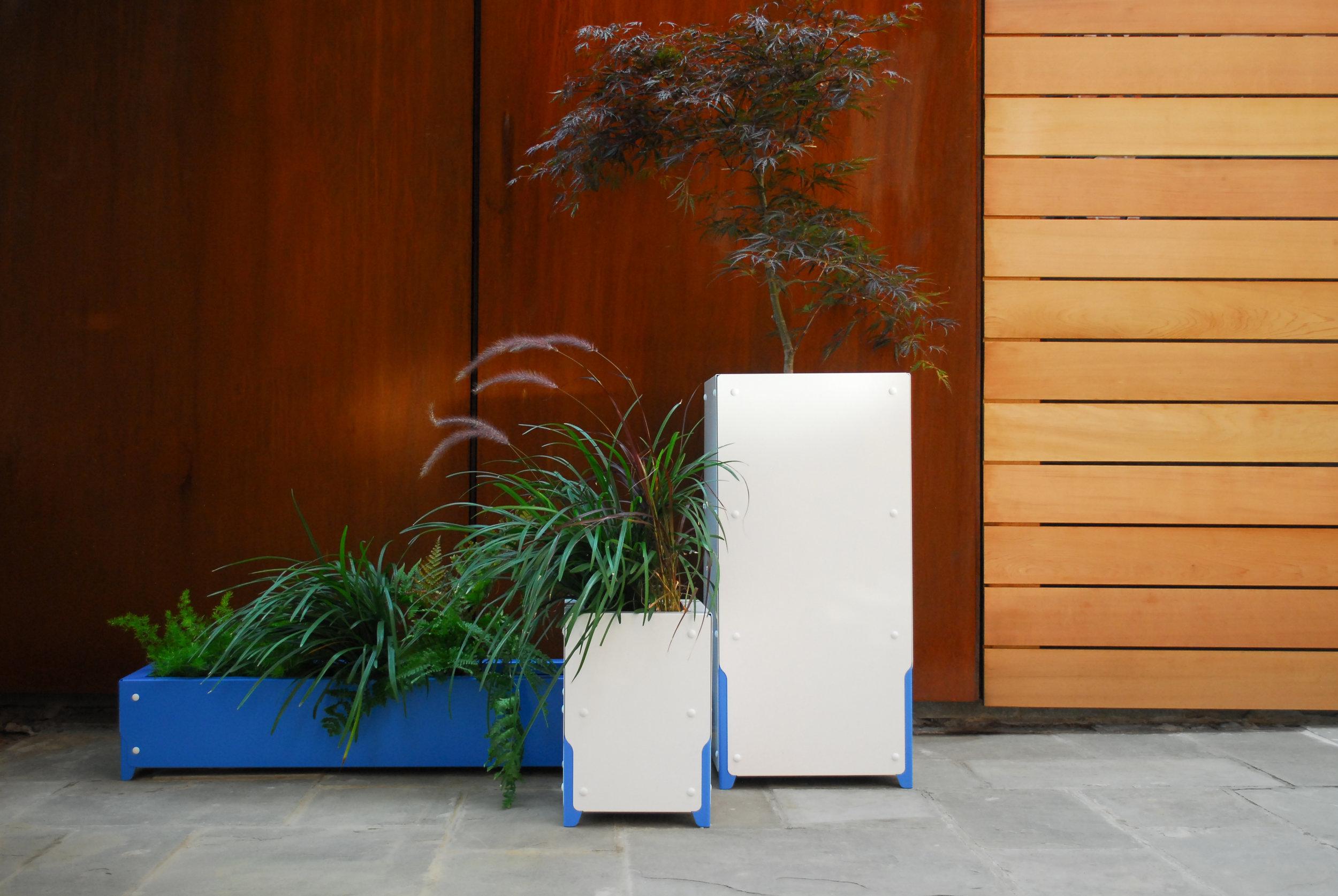 Bolton Planter Lineup - Shiftspace design, Shake Shack