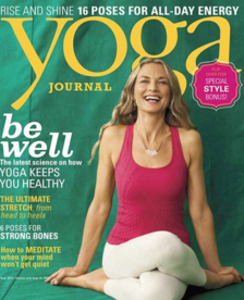 August, 2013  Yoga Journal