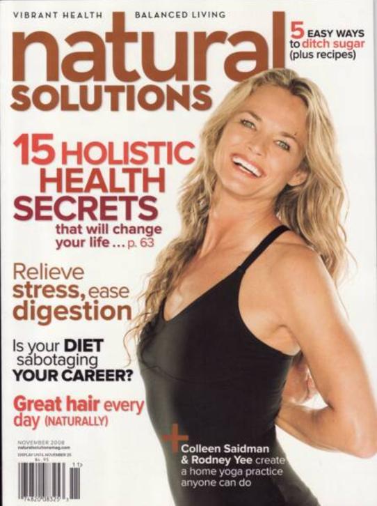 November, 2008  Natural Solutions