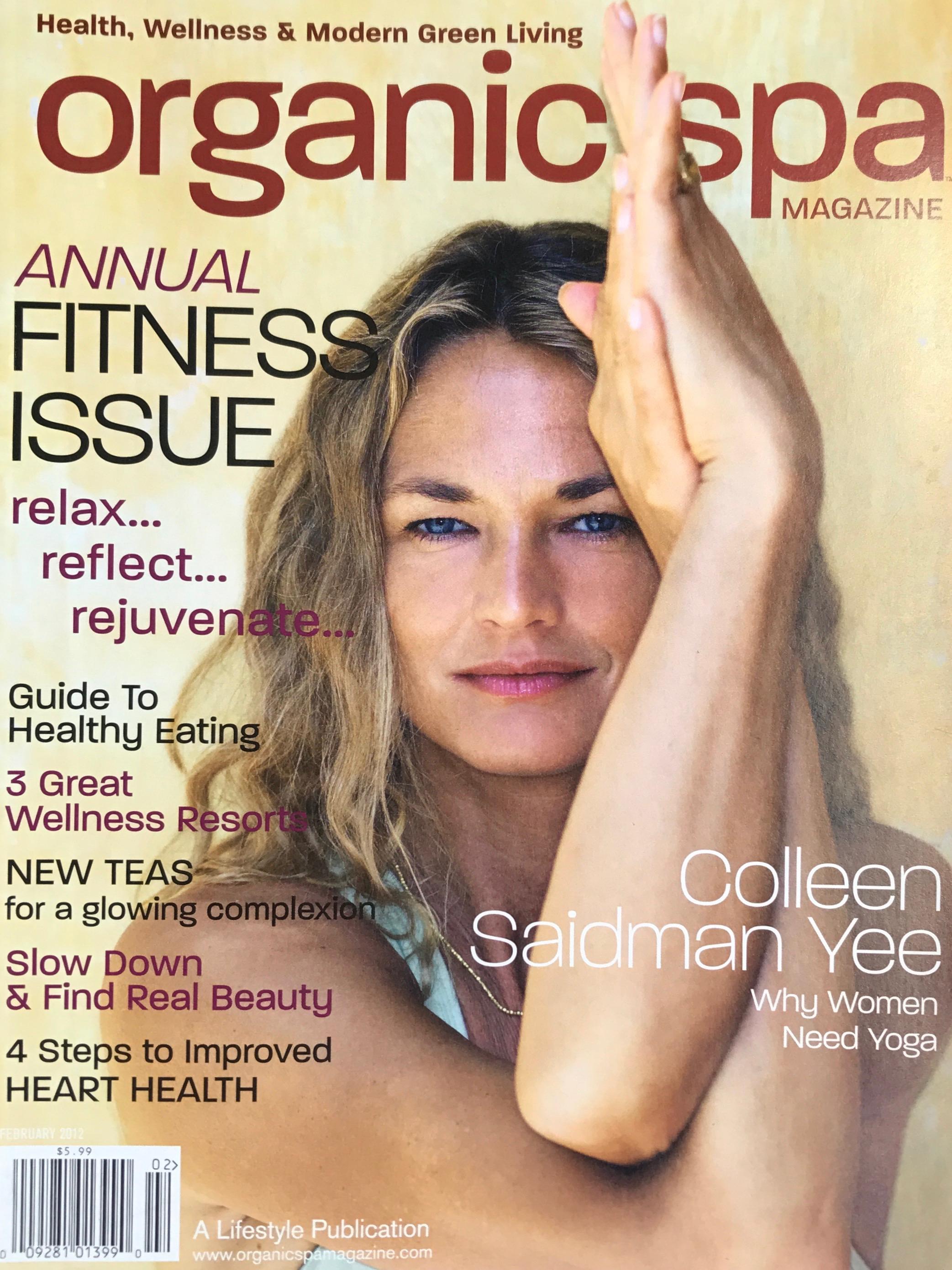 February, 2012  Organic Spa Magazine