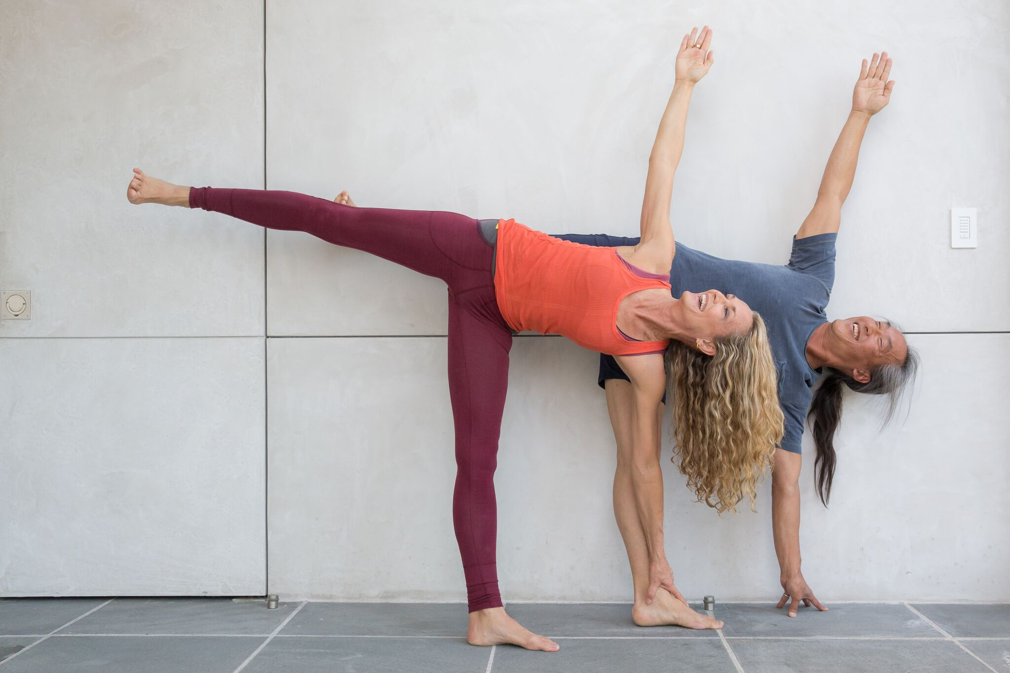 Colleen and Rodney teach The Full Scope of Yoga at Omega in Rhinebeck, NY -