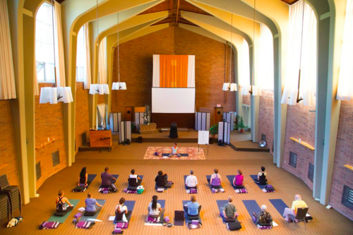 Colleen and Rodney teach at Kripalu in Massachusetts -