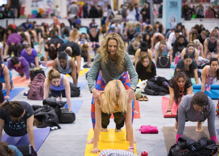 Colleen and Rodney at the Toronto Yoga Conference -