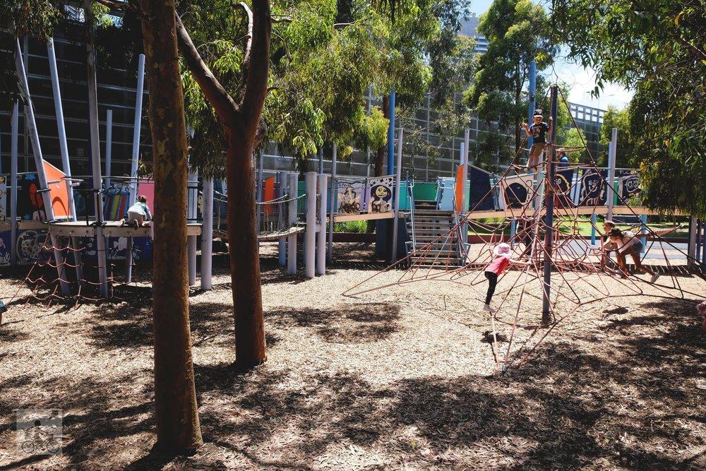 Birrarung Marr Playground