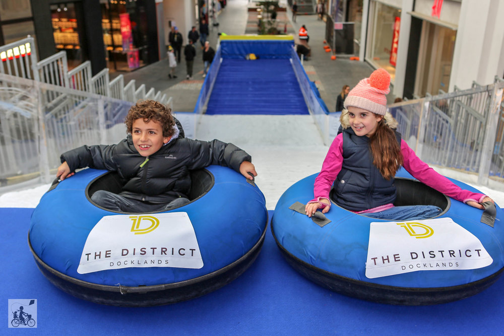 The District Ice Slide @ The District Docklands
