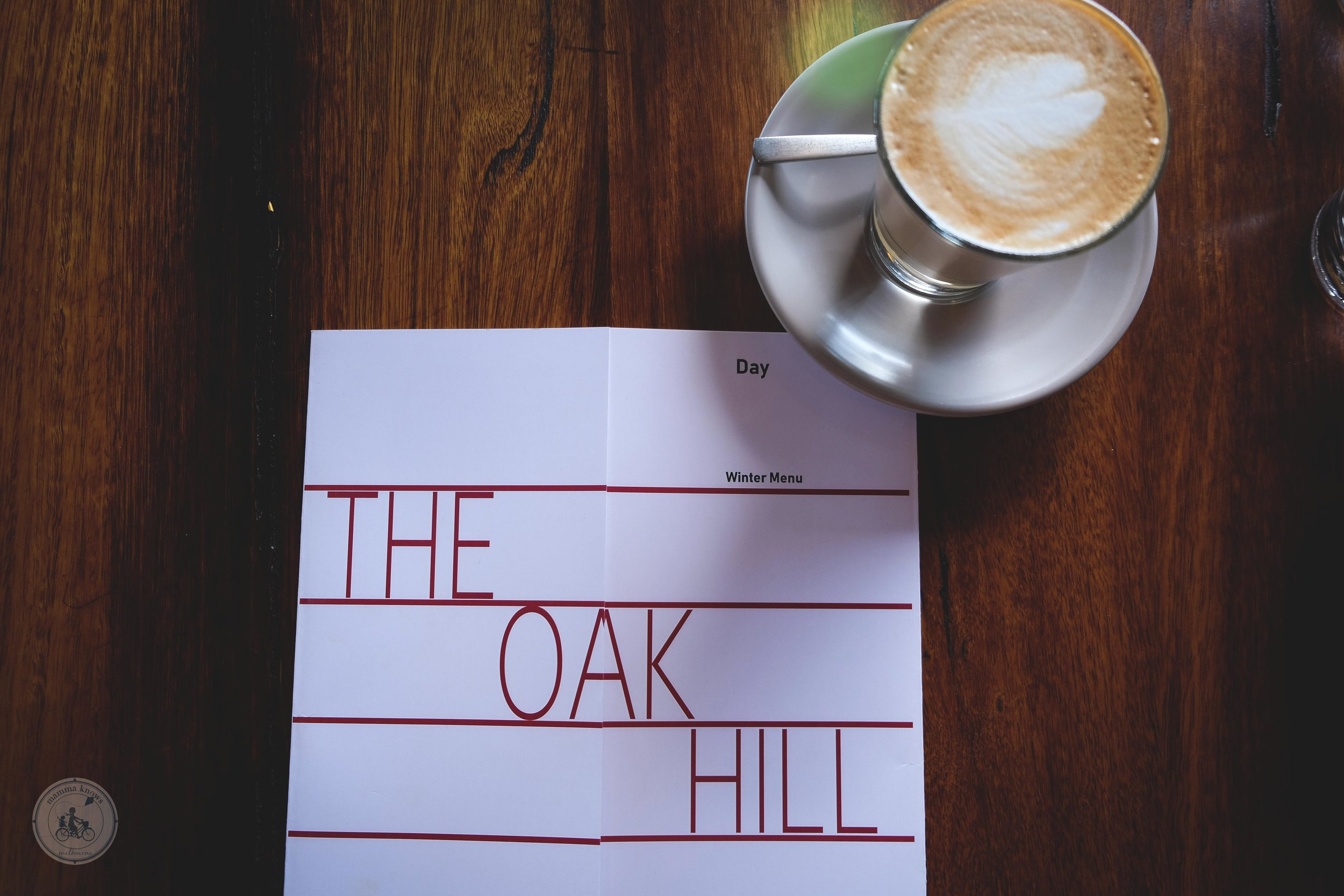 the oakhill cafe, reservoir - mamma knows north