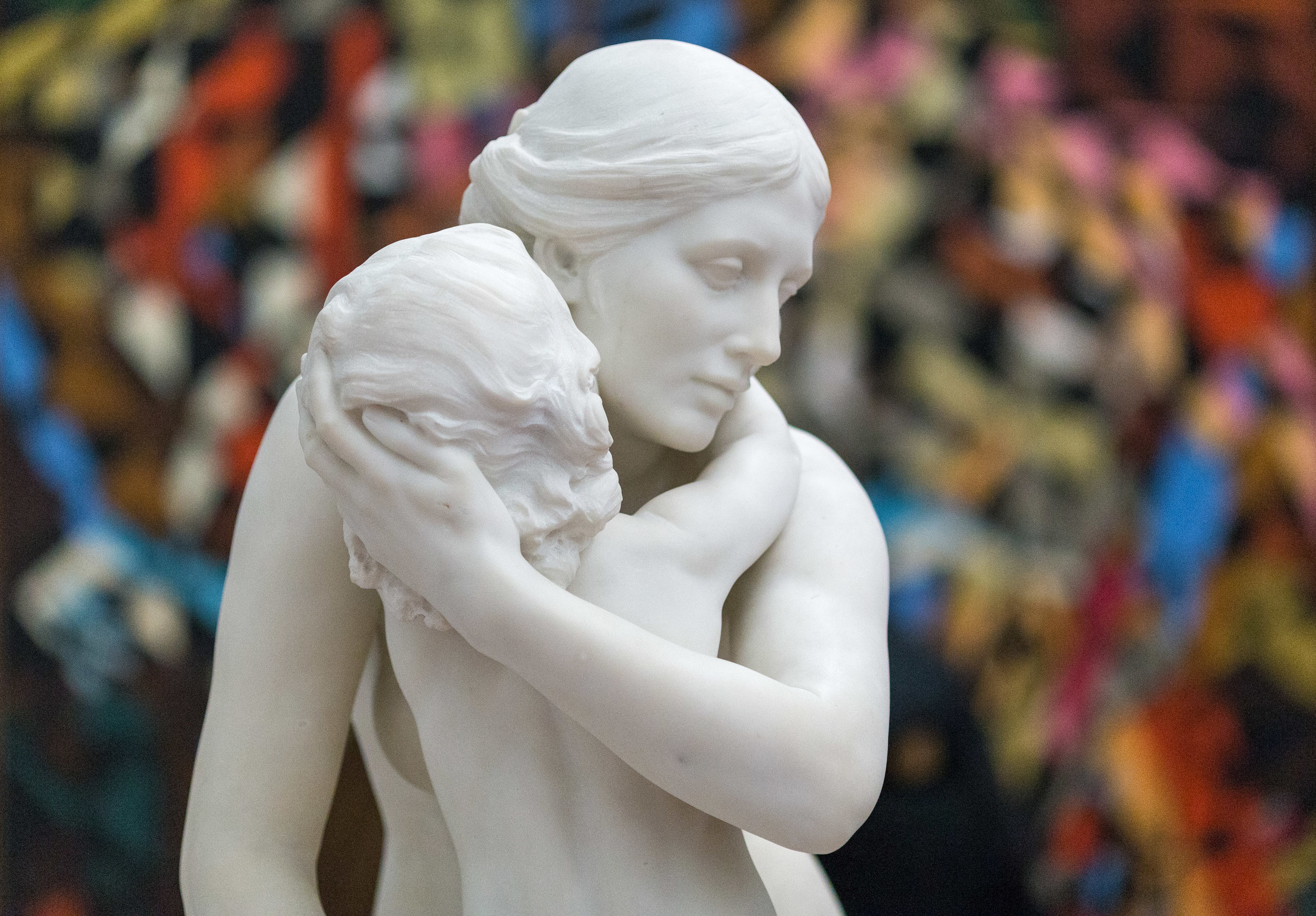 The Kiss by Hamo Thornycroft