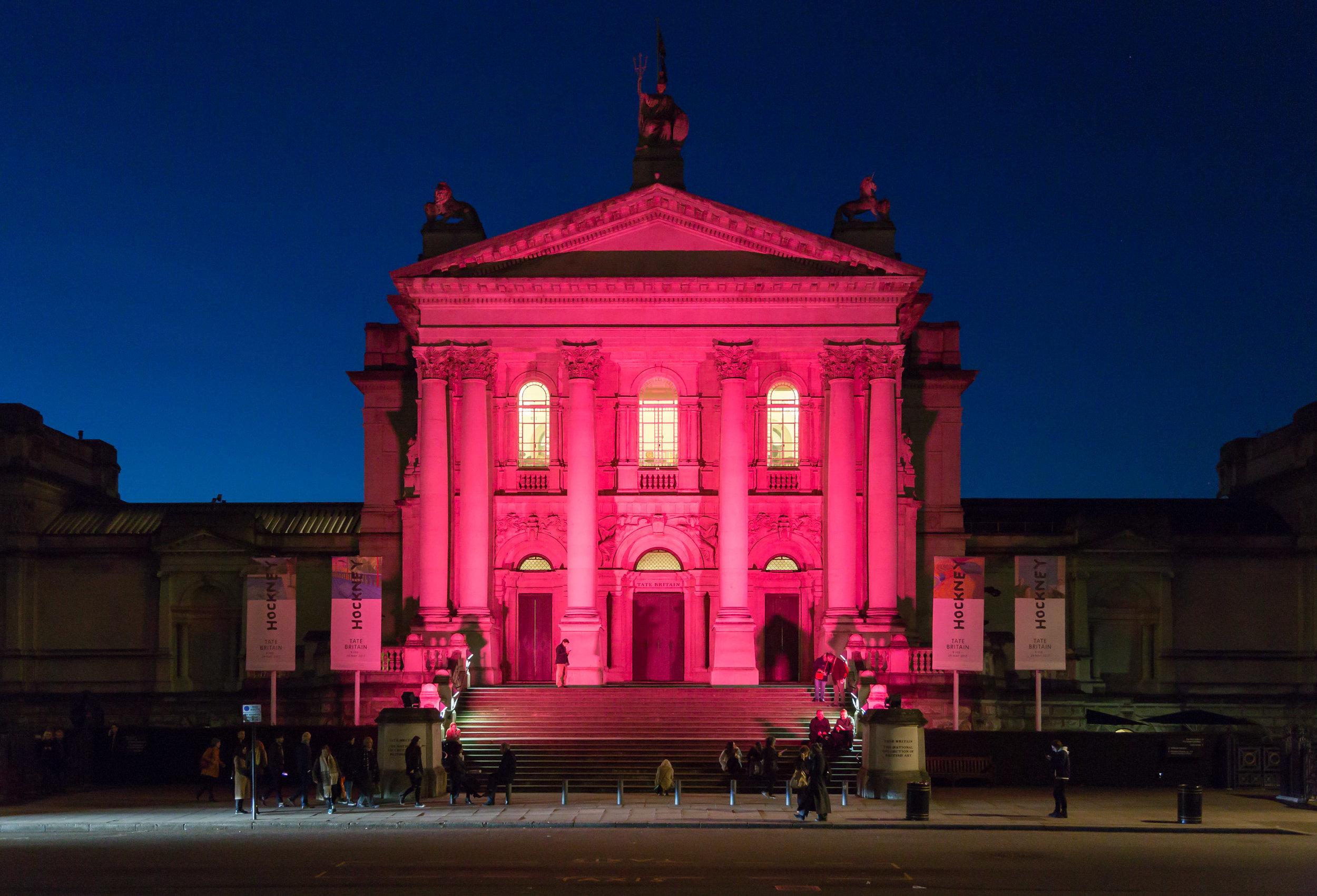 Tate Britain at Blue Hour