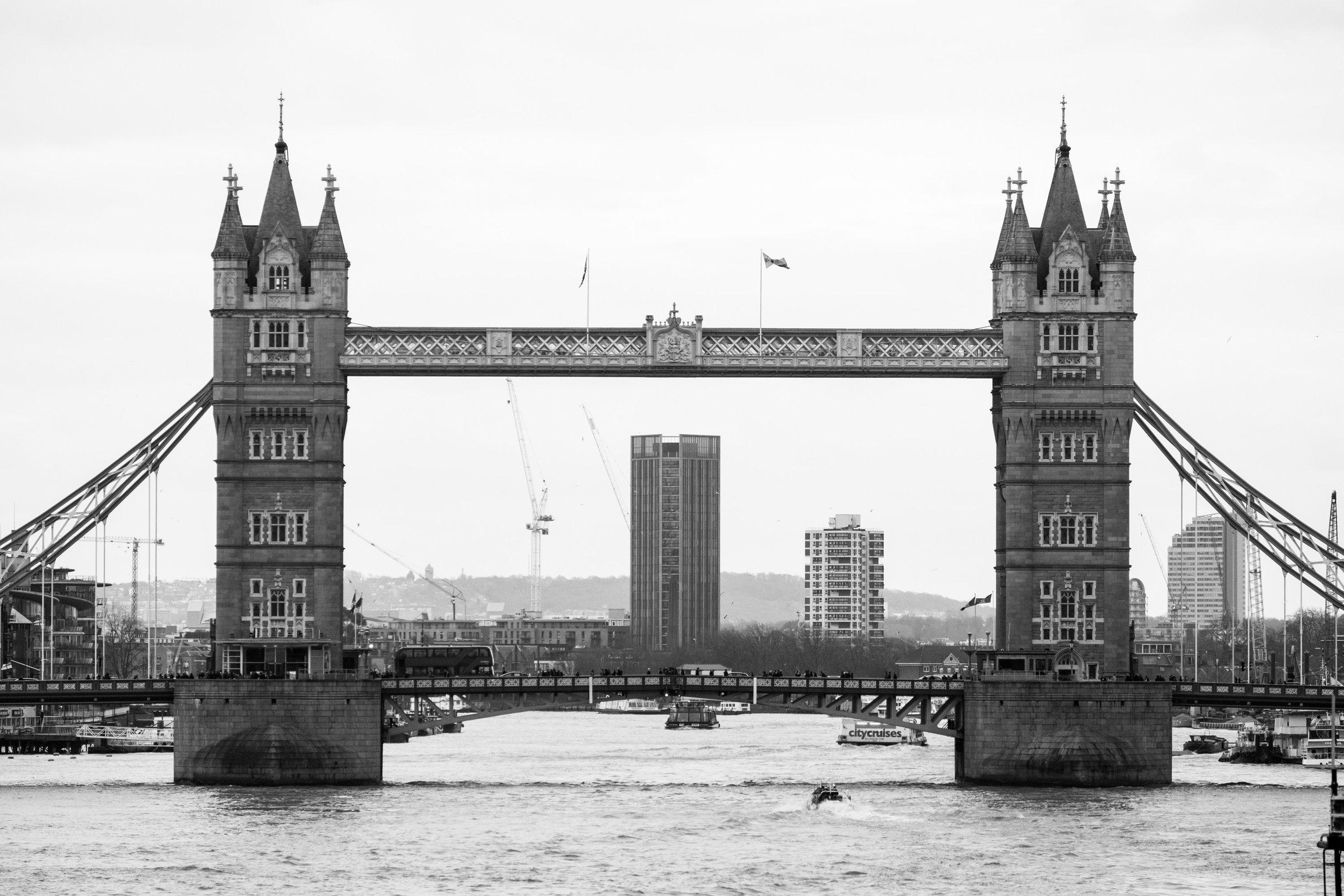Tower Bridge   Head On