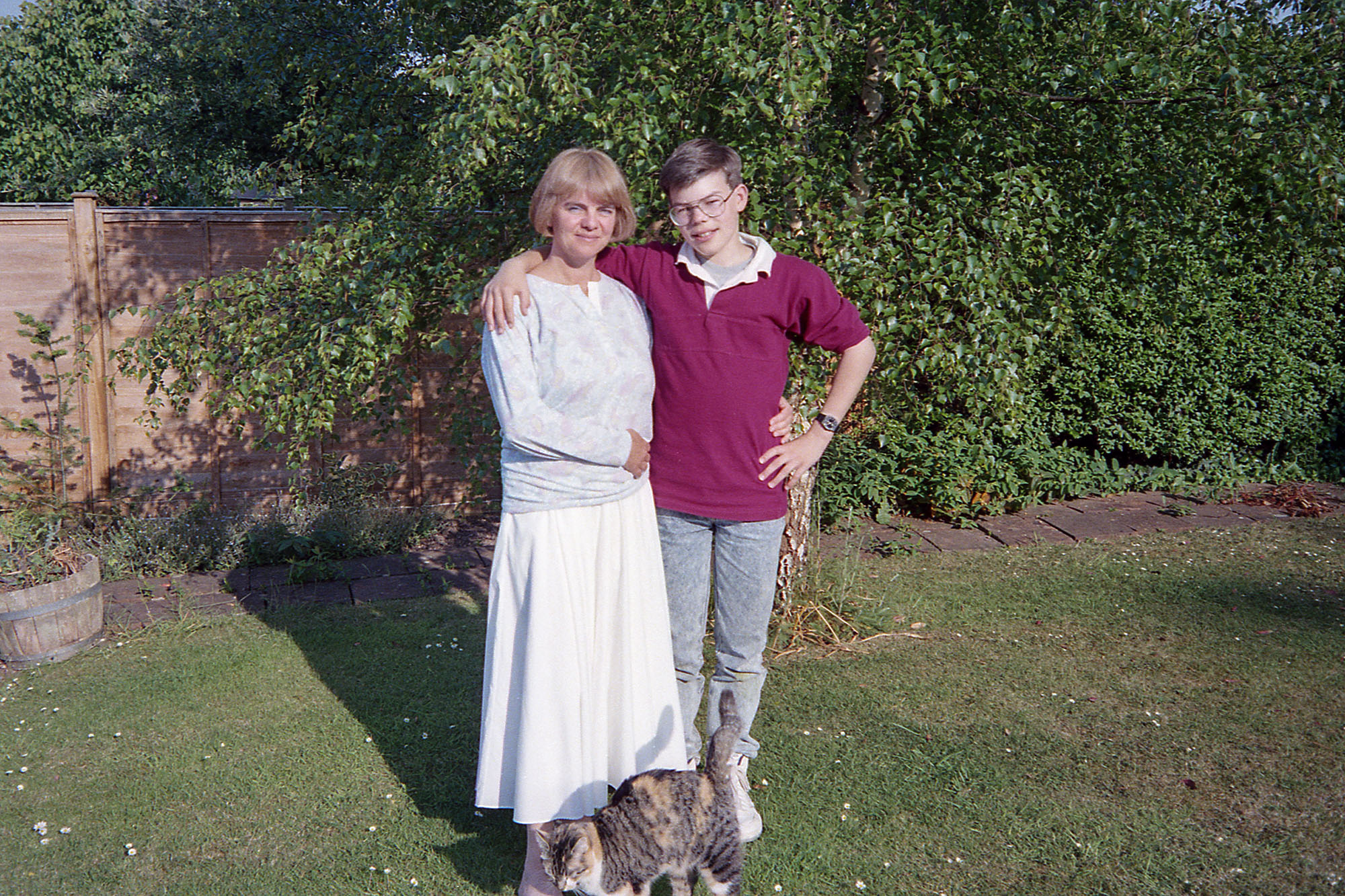 Mum & James in Taunton