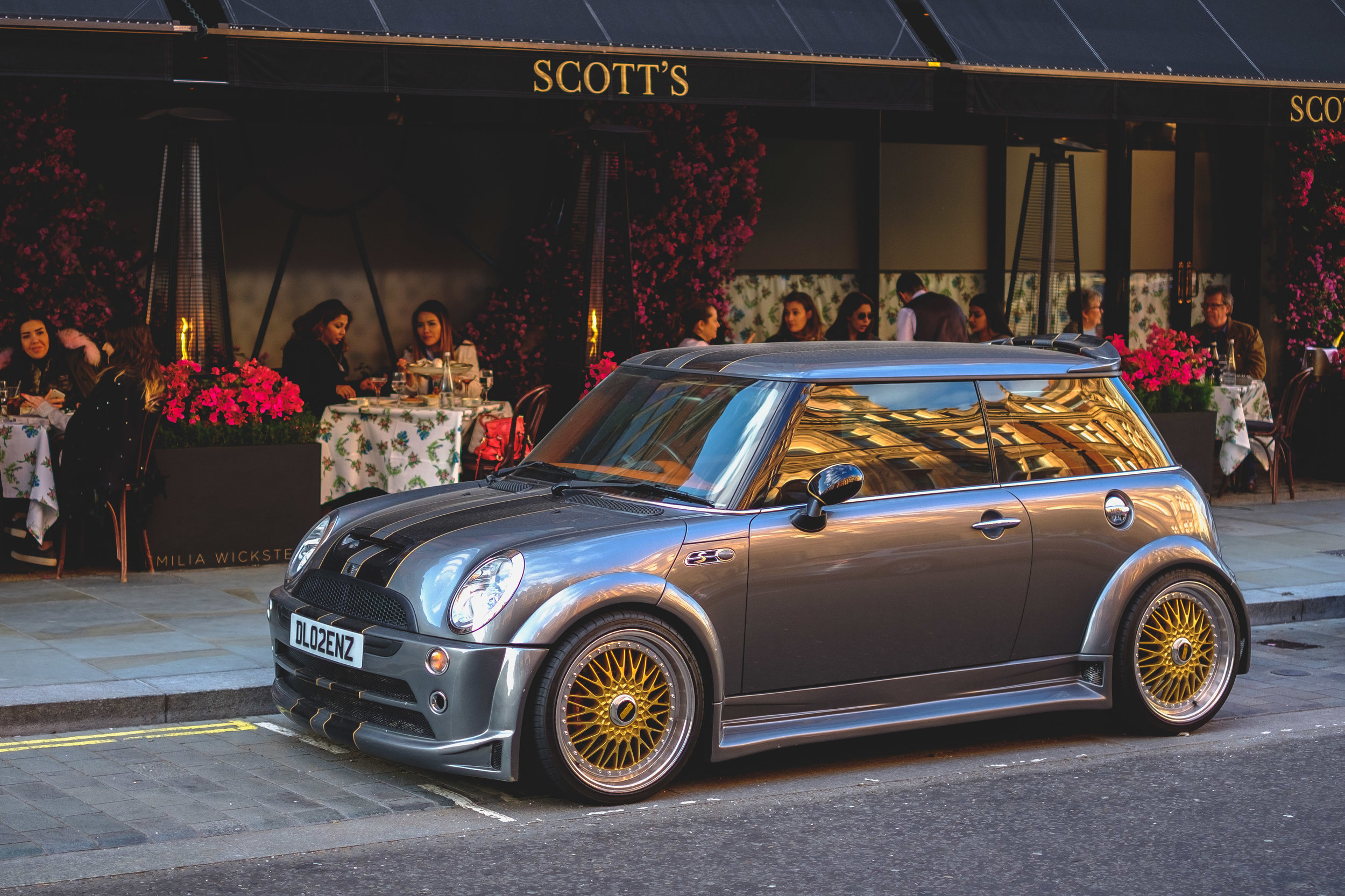 Pimped up Mini Cooper
