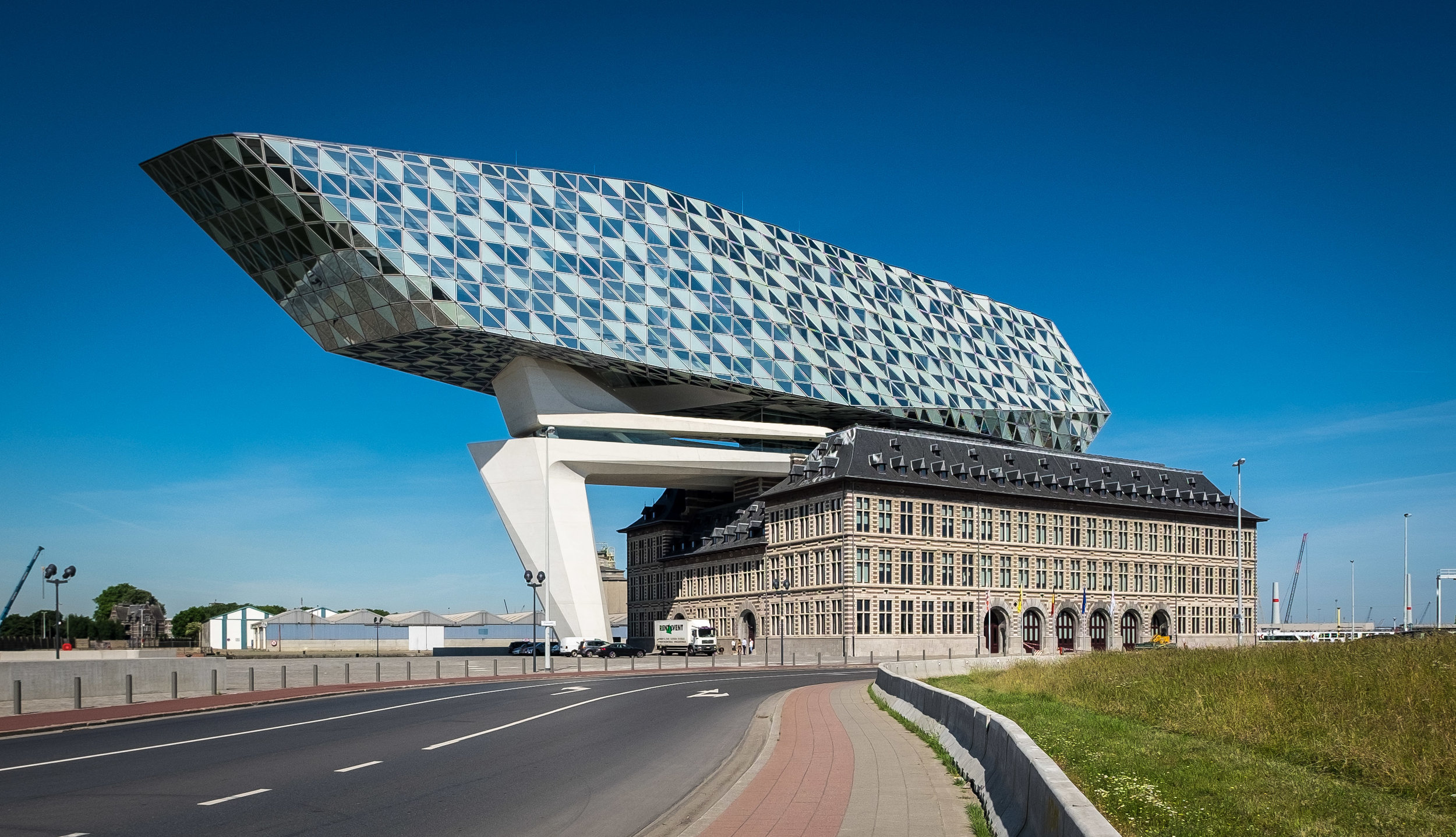 Antwerp Port House | Zaha Hadid