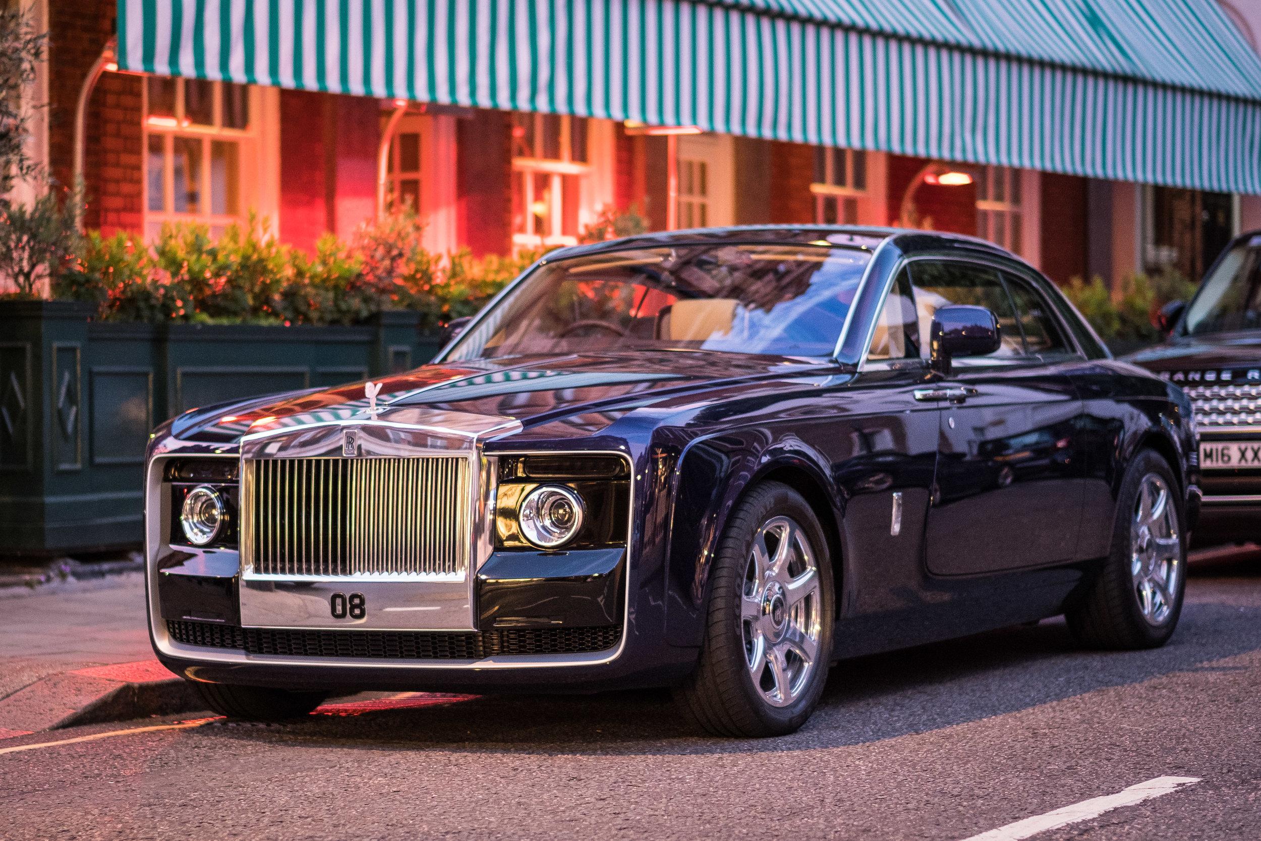 Rolls Royce Sweptail Bespoke