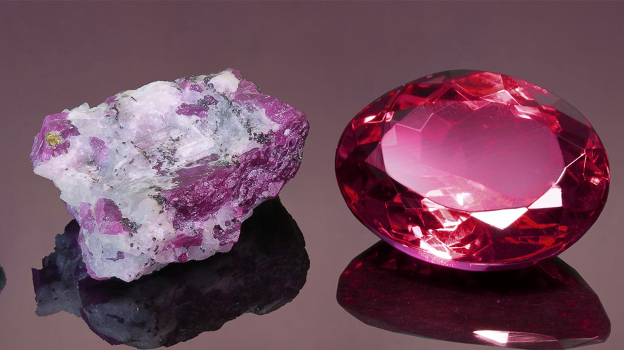 The world's third-biggest precious stone, the Chaiyo Ruby, weighs 109,000 carats // © Dawid Wapenaar © Getty Images