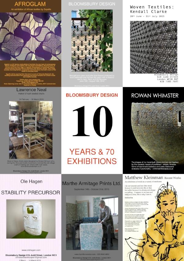 ten years of Bloomsbury Design