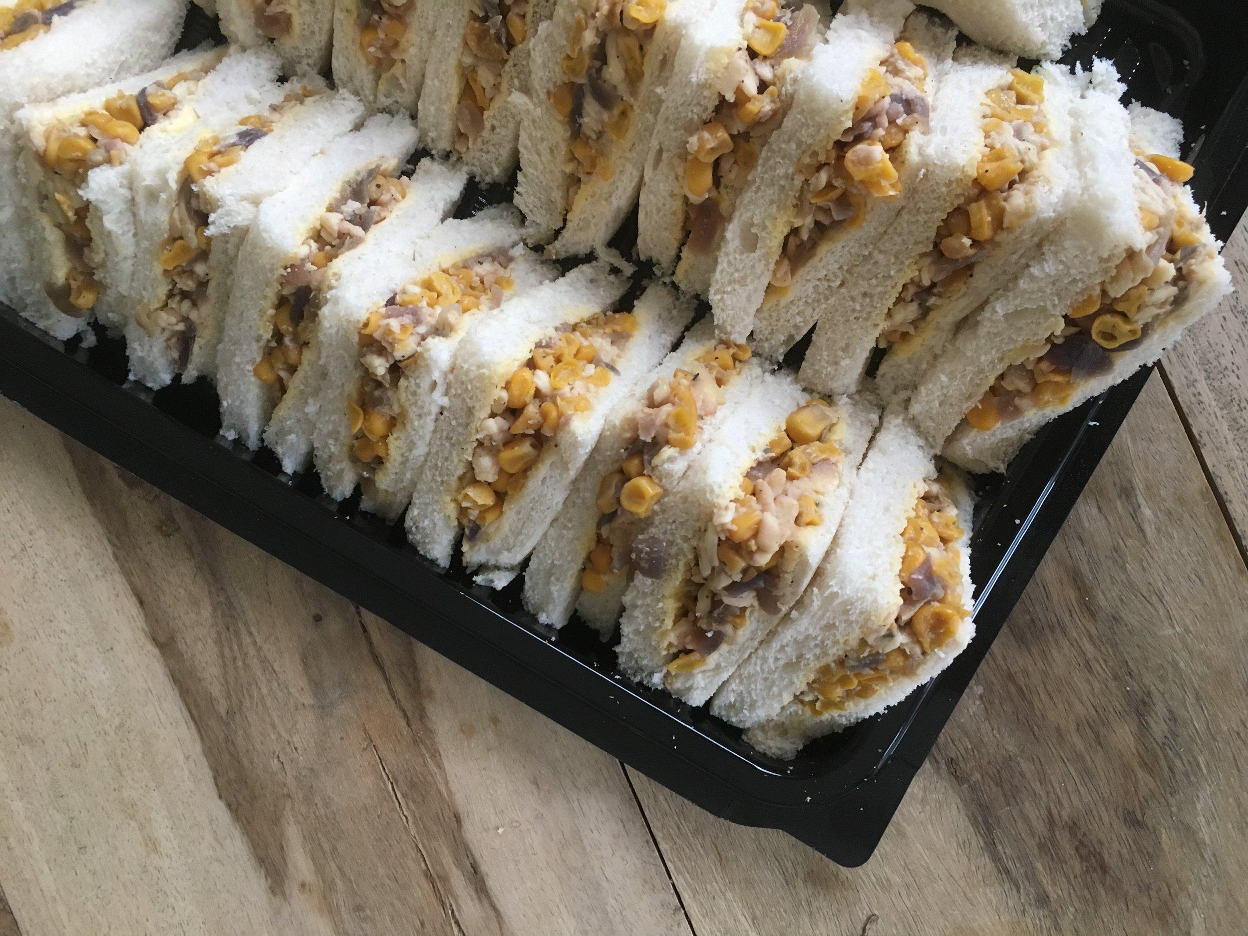 Menu: sandwiches