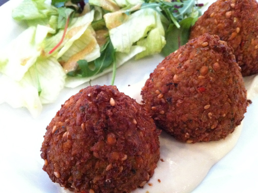 Falafel at Sade