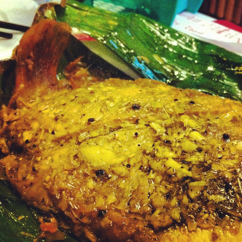 Vietnamese food - Cha Nuong La Chuoi