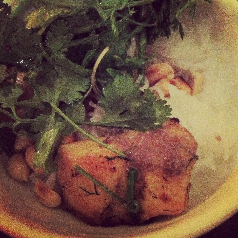 Vietnamese food - Cha Ca Thang Long