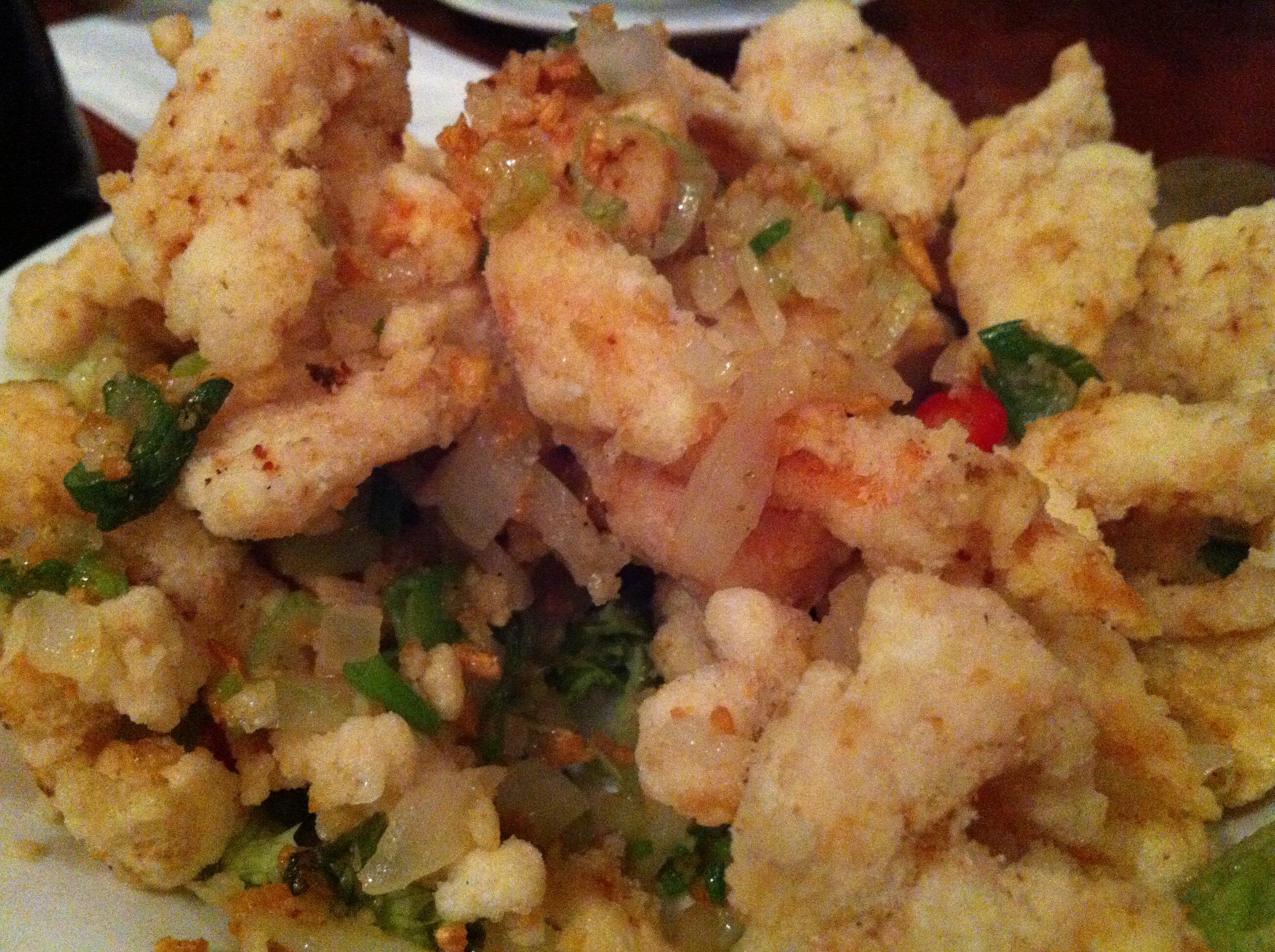 Salt n pepper chicken at Beijing Dumpling in Chinatown, London