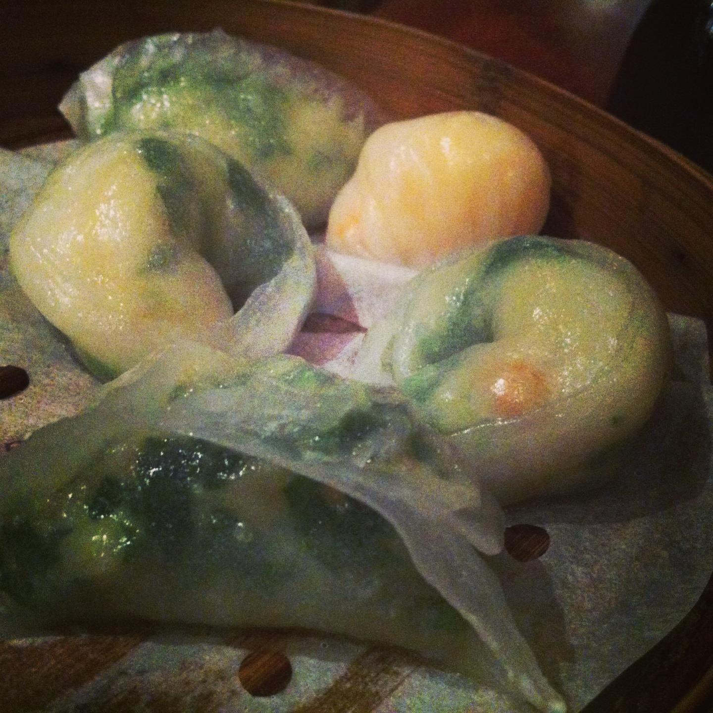 Seafood dimsum platter at Beijing Dumpling in Chinatown, London