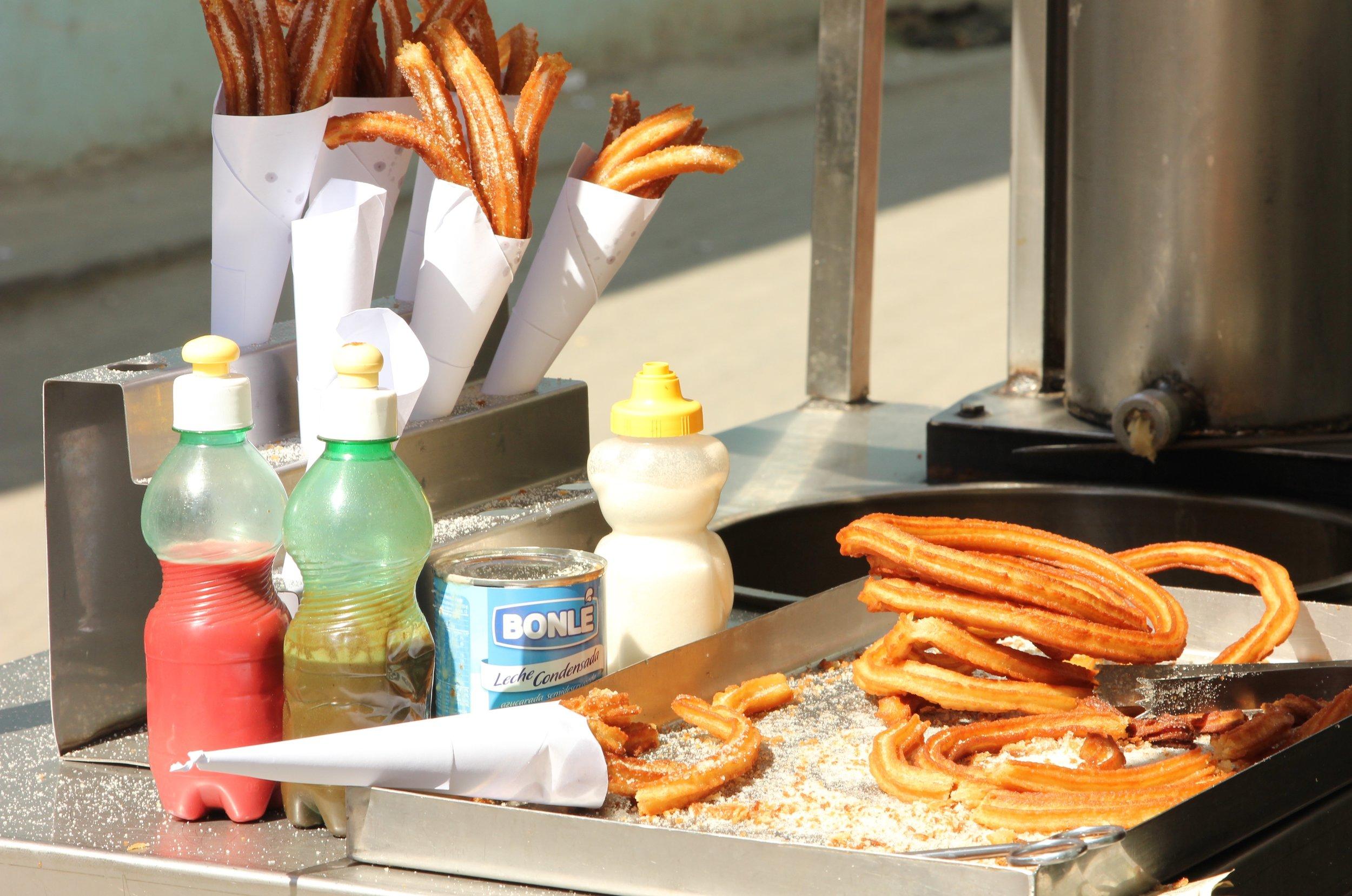 food in cuba - churros