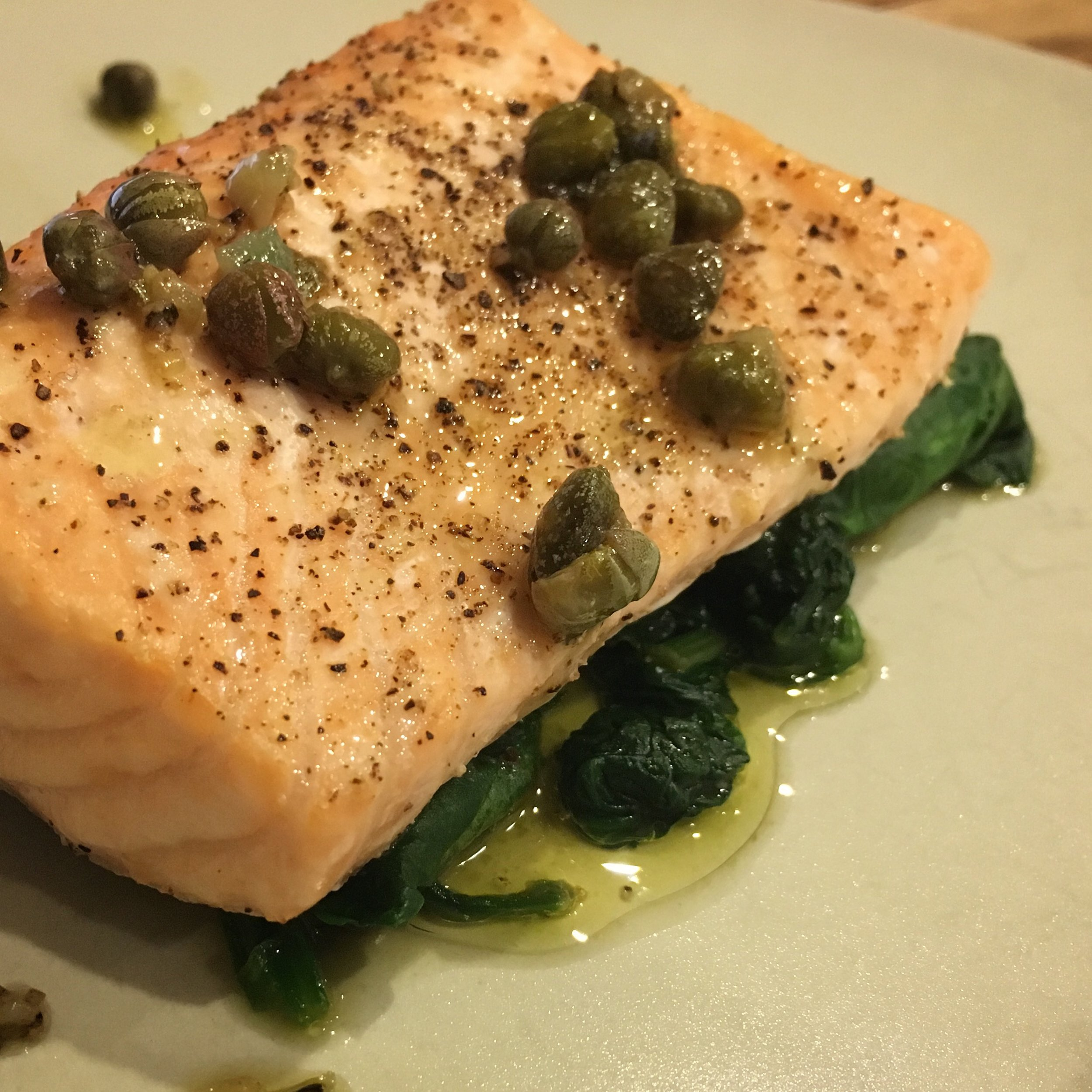 grilled salmon recipe with lemon butter sauce